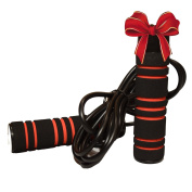 Pulse Cross-fit 0.5kg Weighted Jump Rope with Memory Foam Handles & Weighted Speed Cable for Perfect Rotation :