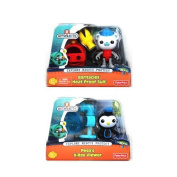 Octonauts Set of 2 Figures & Accessories - Barnacle's Heat Proof Suit & Peso's X-Ray Viewer