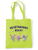Vegetarians Rock Shopping / Shoulder Bag