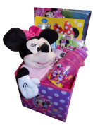 Disney Minnie Mouse Gift Basket with Minnie Tea Time Playset - Perfect for Easter, Birthdays, Get Well, or Other Occasion!