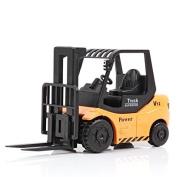 Shopline Forklift Truck Model Toy, Creative Simulation Forklift Vehicle Toy, Gift Workmanship for Boys Kids Children