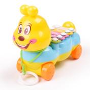 Transer® Toys for Kids- Musical 5-Note Xylophone Carpenterworm Instrument- Children Music Wisdom Development Gym Toy Gift