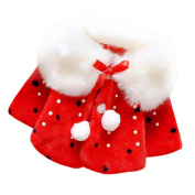 Baby Coat, Zolimx Infant Girls Fur Winter Warm Cloak Jacket Thick Warm Clothes