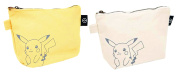 Pokemon Pikachu canvas pouch set of 2