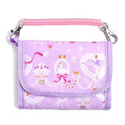 The first time of your wallet series (with chain) exciting Kids wallet purse pretty in lace ballerina (lavender) made in Japan N5509500