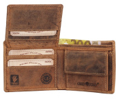 Greenburry Vintage Wallet Leather 11 cm brown