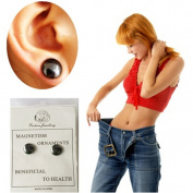 Lalang Magnetic Healthcare Earring Weight Loss Earrings Slimming Ear Healthy Stimulating Acupoints Stud Earring Magnetic Therapy