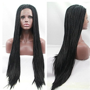 Synthetic Braiding Lace Front Braided Wigs,Synthetic braiding Wigs,60cm