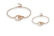 Mother & Daughter Infinity Bracelet Set