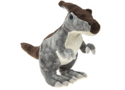 "DINOSAUR ANIMAL PLANET - Plush toy ""Parasauralophus"" Dinosaur of the TV programme ""Animal Planet"" (9""/25cm) - Quality Super Soft"