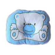 VISKEY Cotton Soft Newborn Baby Prevent Flat Head Pillow Support