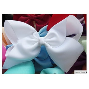 BFab 20cm Big Hair Bow with Clips Pin Alligator Clip