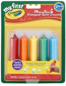 Crayola Triangular Bath Crayons, 5 Count