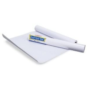 Toy / Game Paper Roll For Large Standing Easel; 46cm W x 23m Roll; no. LCI1486 w/ Pencils, Crayons, & Markers