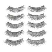 NK store 5 Pairs Natural Look Fake Eye Lash False Eyelashes Extension Makeup