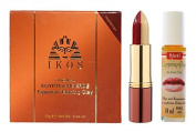 'IKOS Original Egyptische Erde Mediterranean Bordeaux Matt with Dual Lipstick and Lip Care