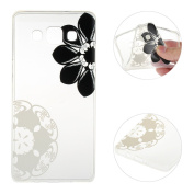 Galaxy A3 Case,Galaxy A3 2015 Cover,Rosa Schleife Protective Slim Light-Weight Crystal Clear TPU Silicone Back Cover Skin Soft Case with Cute Pattern for Samsung Galaxy A3 2015 Version