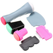 Beauty*Top*Picks Nail Art Scraper Stamping Plate Double Ended Stamper Polish Image Manicure Tool by Beauty*Top*Picks