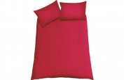 ColourMatch Poppy Red Bedding Set - Double.