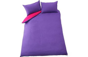 ColourMatch Pink and Purple Bedding Set - Double.
