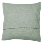 Disana 52110XX - Boiled Wool Cushion Cover grey, Size:40x40 cm