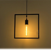 LoSquare ft Retro Industrial Geometric Cage Pendant lamp Ceiling light Simple