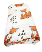 Miracle Baby Baby Bamboo Muslin Swaddle Premium Quality Super Soft Comfort Blanket - 120cm*120cm