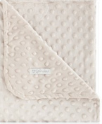 Double Sided Blanket 110 x 140 Dots Linen
