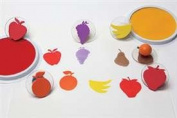 * READY2LEARN GIANT FRUIT STAMPS SET OF 6 - CE-6765