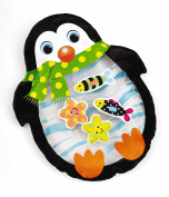 Earlyears Penguin Tabletop Water Pal Travel Water Play Mat for Ages 6 Months and Up