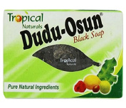 Dudu Osun Tropical Pure Soap Restores Damaged Skin, Natural Black 150 g