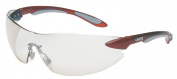 Uvex By Honeywell 763-S4412 Ignite Red Silver Frame Reflect 50 Lens
