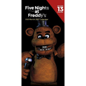 Five Nights At Freddy's 2017 30cm x 15cm Vertical Wall Calendar