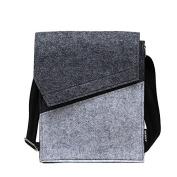 UMISSDEOCR Quality & low price Fashion Men Felt Messenger Bag Eco Friendly Felt Materia,crossbody bag/ Men messenger bags/Handbag gift