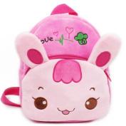 Senmi Children's Cartoon Animal Backpack Baby Toddler Kid's Schoolbag Kindergarten Bag Rabbit