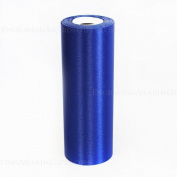 20cm Wide Royal Blue Ceremonial Ribbon for Grand Openings/Re-Openings and Ribbon Cutting Ceremonies - 20 Yard Roll