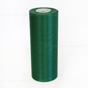 20cm Wide Green Ceremonial Ribbon for Grand Openings/Re-Openings and Ribbon Cutting Ceremonies - 20 Yard Roll