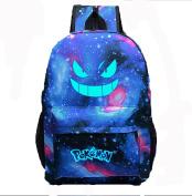 Unisex Pokemon GO Gengar Luminous Face Backpack