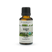 Dr. Mercola Organic Sage Essential Oil - 30ml