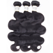 BeautyGrace 7A Peruvian Virgin Hair Bundles Body Wave Bouncy and Soft Hair Extension 3 Bundles/lot (18 20 60cm ) No Shedding No Tangle 3-5Days Shipping