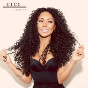 Cici Collection Kinky Curly Glueless Full Lace Human Hair Wigs For Black Women Brazilian Virgin Hair Lace Front Human Hair Wigs Bleached Knots With Baby Hair