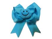 Smiley Plush Emoji Hair Bow
