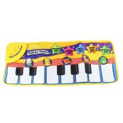 Binmer(TM)Baby Animal Voice Piano Touch kick Play Game Carpet Mat Musical Toy