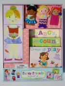 Fancy Friends Dress Up Play Deluxe Gift Set - Books Blocks and Puppets