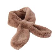 Lisingtool Women Winter Warm Fur Scarves Scarf