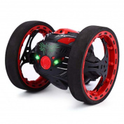 .   RC Toy, Remote Control Car,2.4GHz Wireless Remote Control Jumping Flexible Wheels Rotation Robot Toys by Sunfei