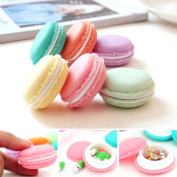 AutumnFall 6 PCS Mini Headset Necklace Erarring Toys Macarons Bag Storage Box Candy Jewellery Organiser Pill Case Container