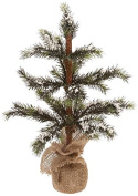 Boston International Winter Woods Snowy Spruce Jute Tree