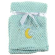 """Snugly Baby """"Nighty Night"""" Ultra Soft Plush Baby Blanket"""