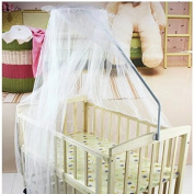 Sealive New Safe Foldable Mosquito Net Infant Toddler Bed Canopy Dome Hanging Net Soft Lightproof Crib Collapsible Netting